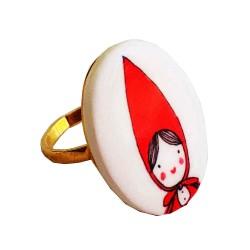 Anello Cappuccetto Rosso