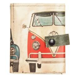 Portafoglio lace up VW