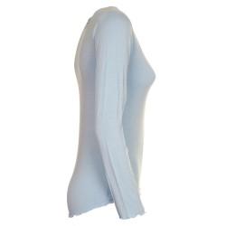 Maglietta sottogicca azzurro