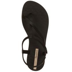 Sandali infradito nero