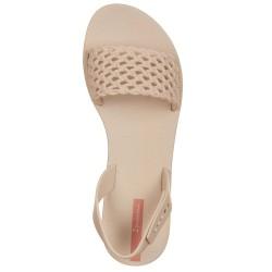 Sandali intrecciati beige