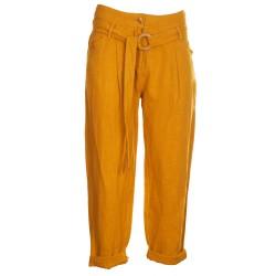 Pantaloni larghi canapa
