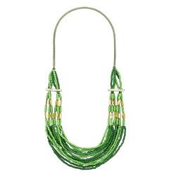 Collana Guenda verde