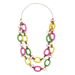Collana Melinda multicolor