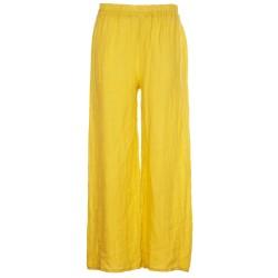 Pantaloni morbidi in lino
