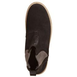 Ankle Boots con elastico Nero