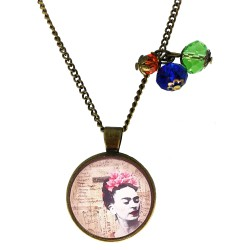Collana 25mm charms Frida