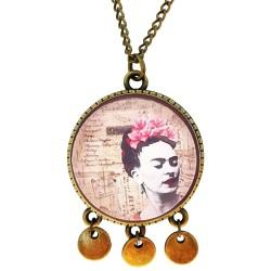 Collana 30mm ciondoli Frida