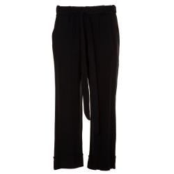Pantaloni capri larghi con fusciacca