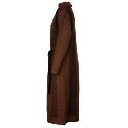 Vestito Mendel Nero e Cammello