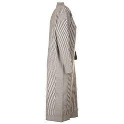 Vestito Mendel Bianco e Grigio