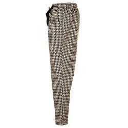 Pantaloni a palloncino pied de poule
