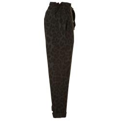 Pantaloni felpa maculato