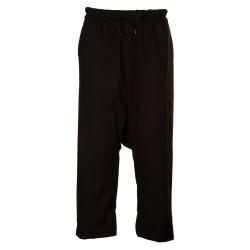 Pantaloni con cavallo basso