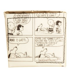 Portamonete Squere Snoopy