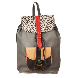Zaino Backpack stamp pelo basic 687456P