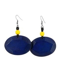Orecchini Ariete blu