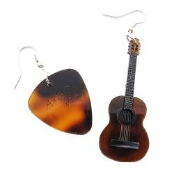 Orecchini pendenti chitarra tiffany