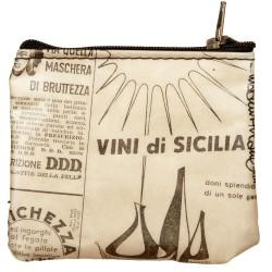 Portamonete piccolo Vini di Sicilia