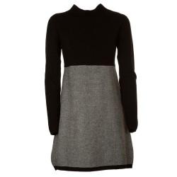 Mini abito maglia