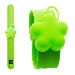 Bracciale Sanitizer Quadrifoglio verde