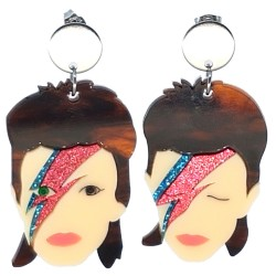 Orecchini pendenti David Bowie
