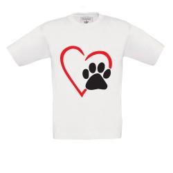 T-Shirt bimbo Cuore Orma