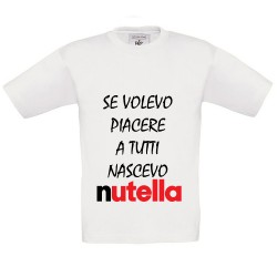 T-Shirt bimbo Nutella