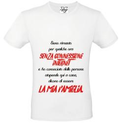 T-Shirt Uomo senza conness.2 rosso