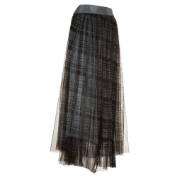 Gonnellone tulle scozzese
