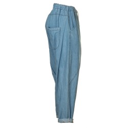 Jeans stone whashed harem