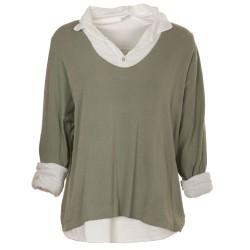 Camicia con maglia