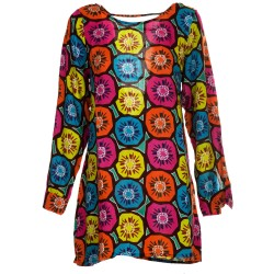 Vestito Kiwi multicolor