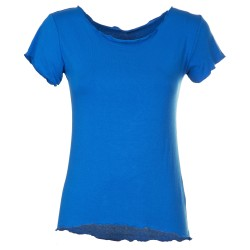 T-Shirt basica bluette