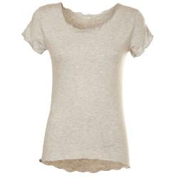 T-Shirt basica grigio chiaro