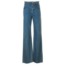 Jeans taglio vivo