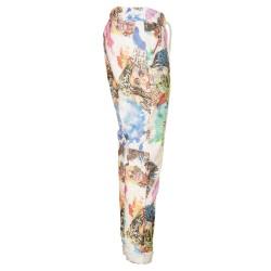 Pantaloni multicolor coulisse