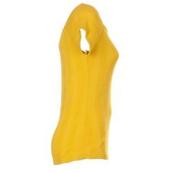 T-Shirt rigata giallo