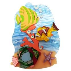 Spilla Mare Spiaggia Conchiglia Stella
