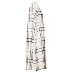 Vestito largo scozzese