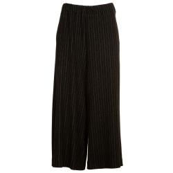 Pantaloni larghi rigati